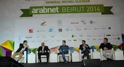 L'échec sur le devant de la scène, lors d'Arabnet Beirut