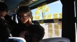 A bord du Ampion Venture Bus : cinq jours pour traverser la Tunisie et monter une startup