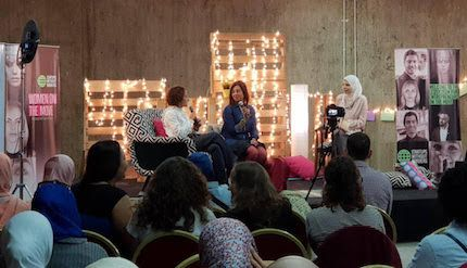 Cairo's Startups without Borders brings 200 refugee entrepreneurs to learn, share, and give back