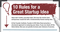 Is your idea good enough to become a great startup? [Infographic]